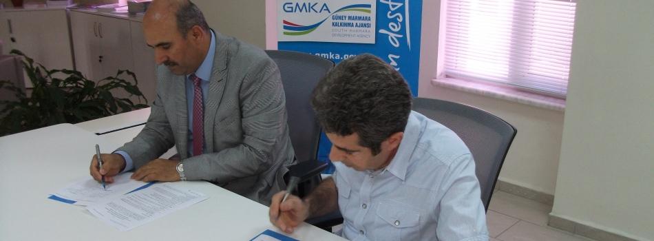 GMKA ile İmza Töreni