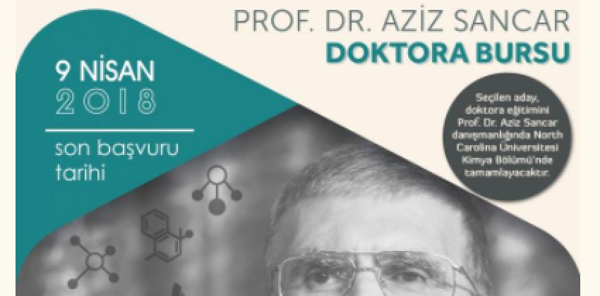 Prof. Dr. Aziz Sancar Onuruna Fulbright Türkiye Özel Bursu