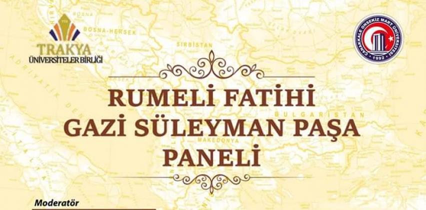 Rumeli Fatihi Gazi Süleyman Paşa Paneli