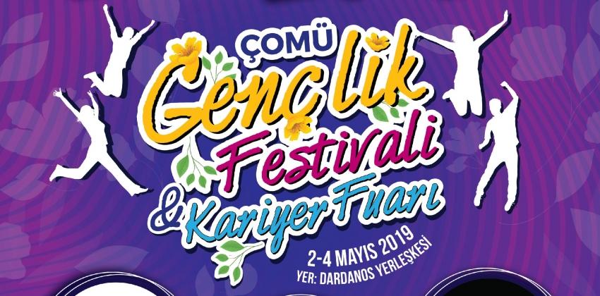 ÇOMÜ Gençlik Festivali ve Kariyer Fuarı