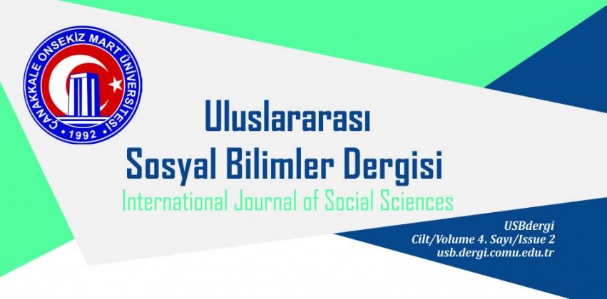 Çanakkale Onsekiz Mart Üniversitesi Uluslararası Sosyal Bilimler Dergisi'nin Yeni Sayısı Yayında!