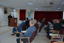 Dekanımız Prof. Dr. Hüseyin ERKUL, Çanakkale Orman Bölge Müdürlüğü Yönetici Personeline Ders Verdi.