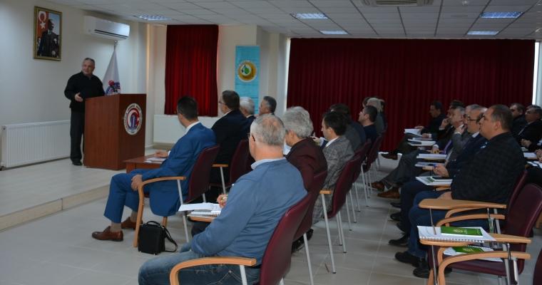 Dekanımız Prof. Dr. Hüseyin ERKUL, Çanakkale Orman Bölge Müdürlüğü Yönetici Personeline Ders Verdi