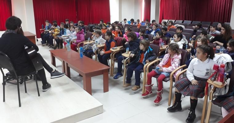 Çanakkale Koleji İlkokul 2. Sınıf Öğrencileri Fakültemizi Ziyaret Etti