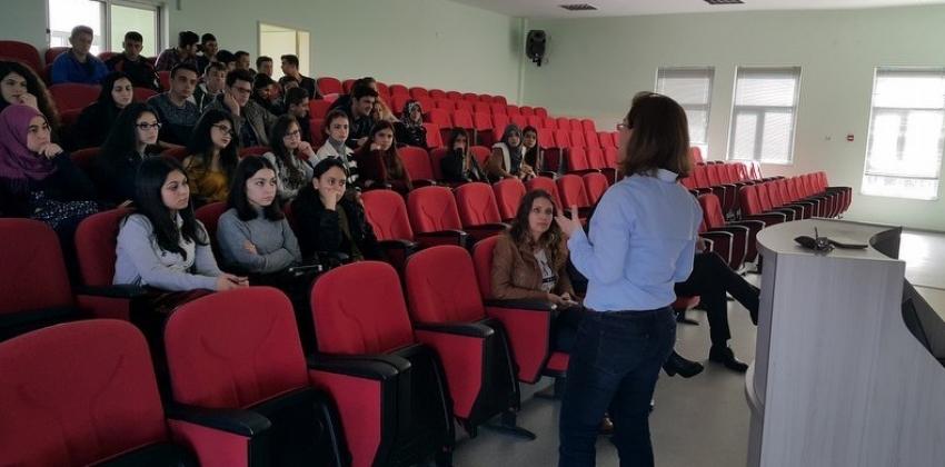 Çan Sevim Bodur Mesleki ve Teknik Anadolu Lisesi Yüksekokulumuzu Ziyaret Etti