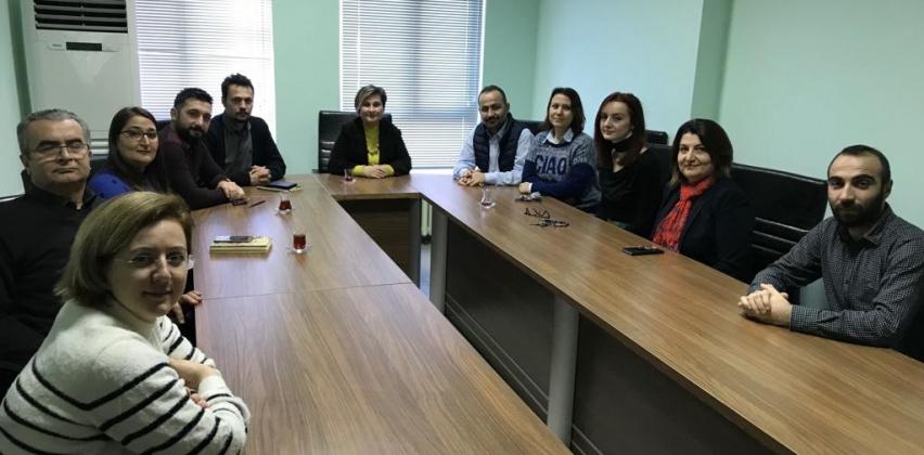 Sağlık Hizmetleri Meslek Yüksekokulu'nda Tanışma Toplantısı