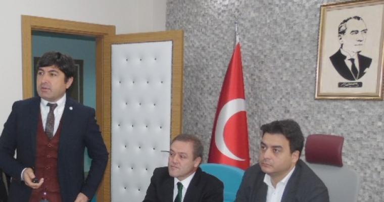Dekan Prof.Dr. Hürmüz Koç Amatör Spor Kulüplerinin ve Sporcularının Sorunları ve Çözüm Önerileri Hakkında Bilgi Verdi.