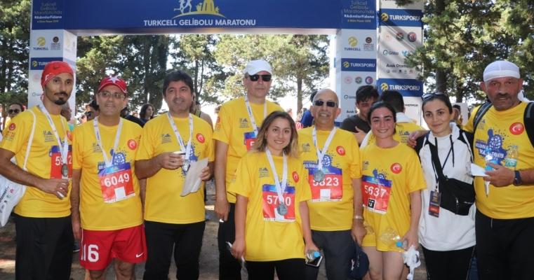 Spor Bilimleri Fakültesi 5.Gelibolu Maratonu'na Katıldı.