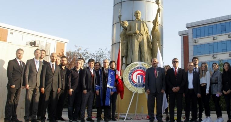Gazi Mustafa Kemal Atatürk ebediyete intikalinin 81. yıl dönümünde törenlerle anıldı.