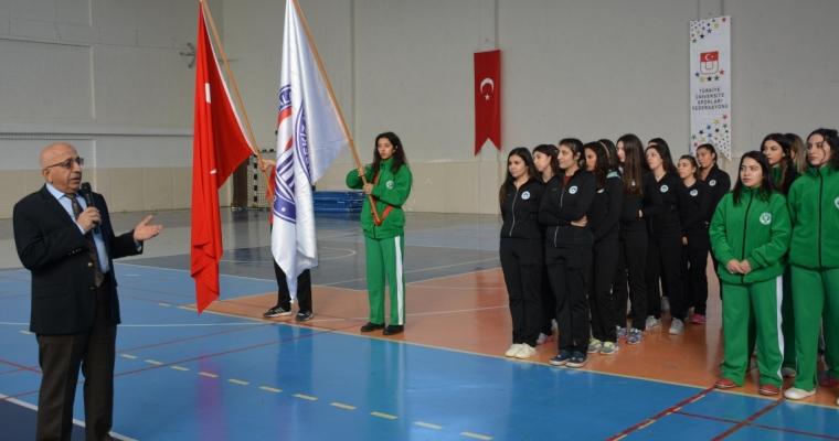 Türkiye Üniversite Sporları Federasyonu Voleybol İkinci Lig Grup Birinciliği Müsabakaları ÇOMÜ Evsahipliğinde Gerçekleştirildi.