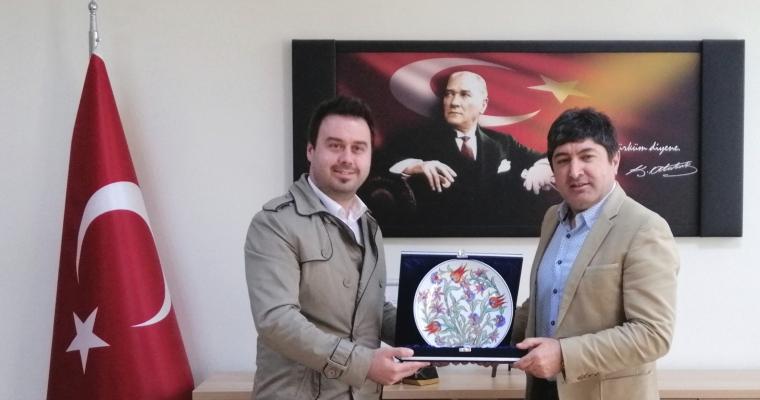 Trakya Üniversitesi Genel Sekreteri Dekan Prof.Dr.Hürmüz Koç'u Makamında Ziyaret Etti