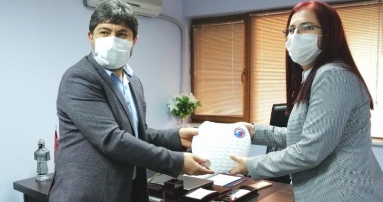 Dekan Prof. Dr. Hürmüz Koç' tan 10 Ocak Çalışan Gazeteciler Günü ziyareti