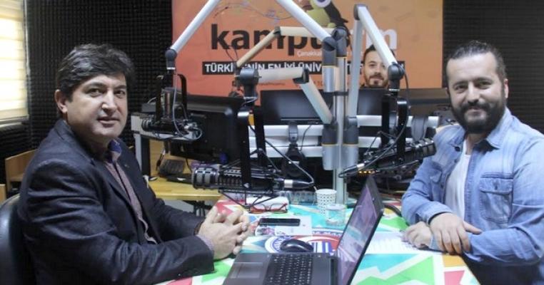 Dekanımız Prof.Dr. Hürmüz Koç, Kampüs FM ''Diyabet ve Obezite '' Özel Programının Konuğu Oldu.