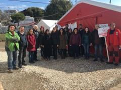 Halk Sağlığı Anabilim Dalı'ndan Deprem Bölgesine Ziyaret