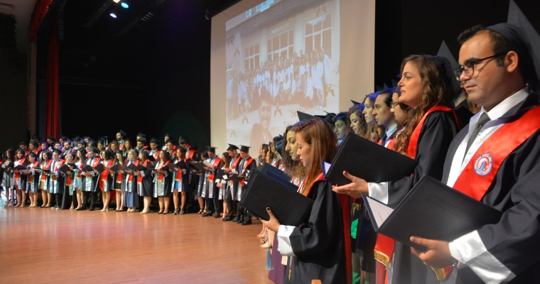 ÇOMÜ Tıp Fakültesi 2018 Yılı Mezuniyet Töreni gerçekleştirildi