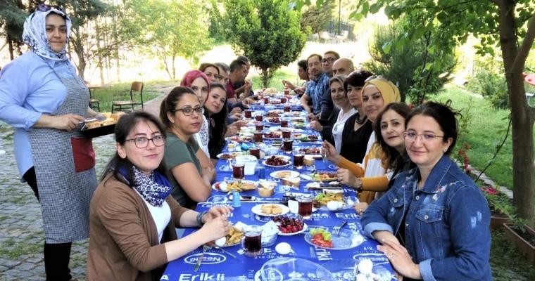 Tıp Fakültesi ailesi kahvaltıda biraraya geldi