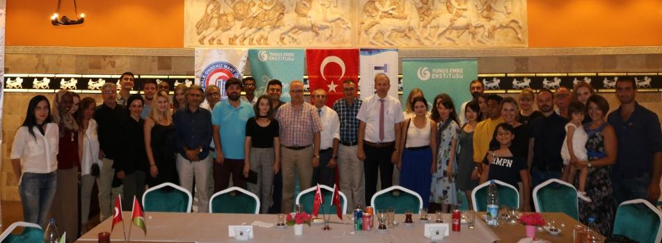 ÇOMÜ TÖMER-Yunus Emre Enstitüsü Yaz Okulu Sona Erdi