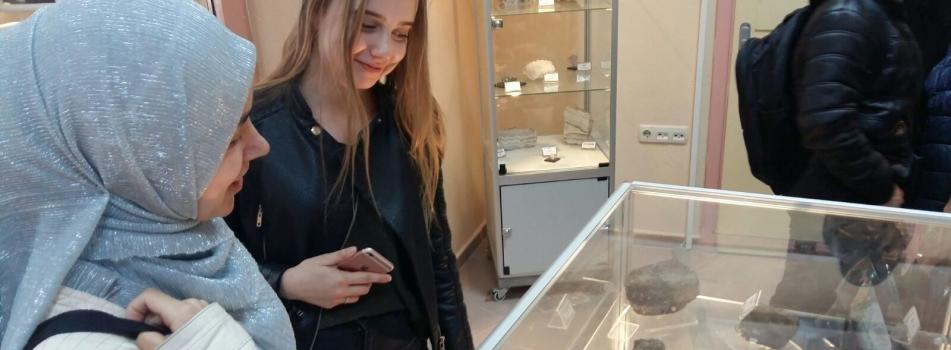 ÇOMÜ TÖMER Öğrencilerinden Yer Bilimleri Müzesi Ziyareti