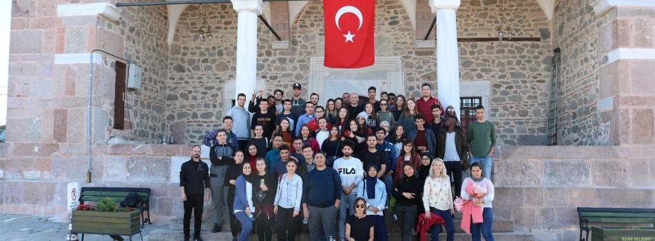 ÇÖMÜ TÖMER'de Öğrencilerle Birlikte Kültür Gezisi Gerçekleştirildi.