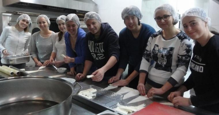 Erasmus Öğrencilerimizin Türk Mutfağı Uygulaması