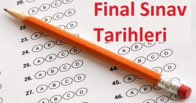 Final Sınav Programı
