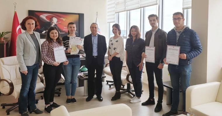 Öğrencilerimizin Rusça Olimpiyatları Başarısı
