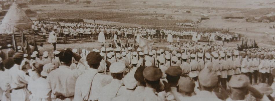 Gelibolu'da Rus Anıtının Açılışı, Temmuz 1921