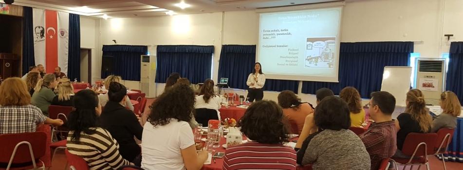 Ankara İDV Bilkent  Okulları'nda Üstün Yetenekliler İçin Zenginleştirilmiş Öğretim Programı Çalıştayı
