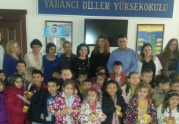 ÇOMÜ Kreş öğrencileri Okulumuzu ziyaret ettiler.