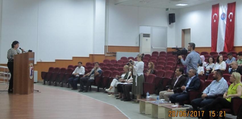 2016 - 2017 Akademik Yılı Bahar Dönemi Akademik Genel Kurul Toplantısı Yapıldı.