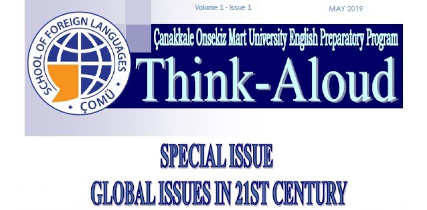 """""""Think-Aloud"""" Dergimizin İlk Sayısı Yayında"""