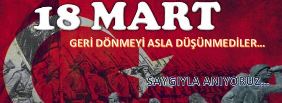18 MART ÇANAKKALE ZAFERİ....
