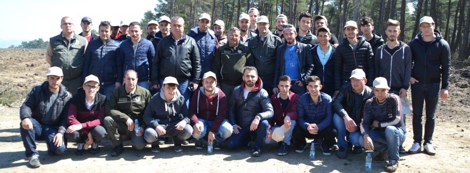21-26 MART ORMANCILIK HAFTASI FİDAN DİKME ETKİNLİĞİ...