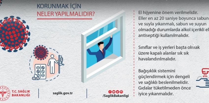 """""""BİREYSEL HİJYEN"""" Korona Virüsten Korunmanın İlk Adımıdır..."""