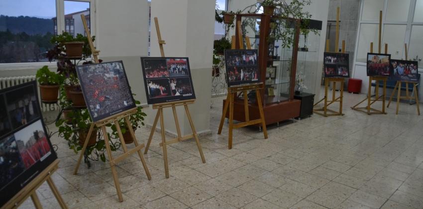 YENİCE MYO'DA 15 TEMMUZ MİLLİ İRADEYE SAYGI SERGİSİ