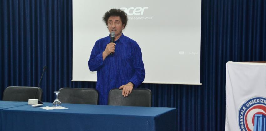 """Ünlü İş Adamı ve Diyetisyen Hüseyin Özer'in katılımlarıyla """"Bir Başarı Hikayesi""""konulu seminer"""