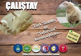 Türk Saanen Keçisi ve Tahirova Koyunu Çalıştayı