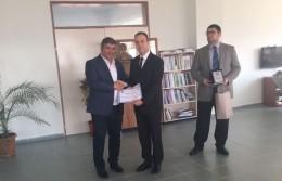 Ziraat Fakültesi Ayniyat Saymanı Ali Yılmaz TEZ İçin Emeklilik Töreni