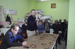 Ziraat Fakültesi'nden Bayramiçli Üreticilere Meyvecilik Konferansı