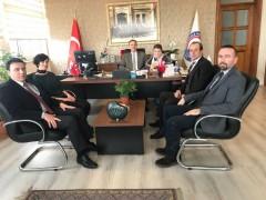 Ali Haydar Önder Anadolu Lisesi'nden Ziraat Fakültesi Dekanlığına Ziyaret
