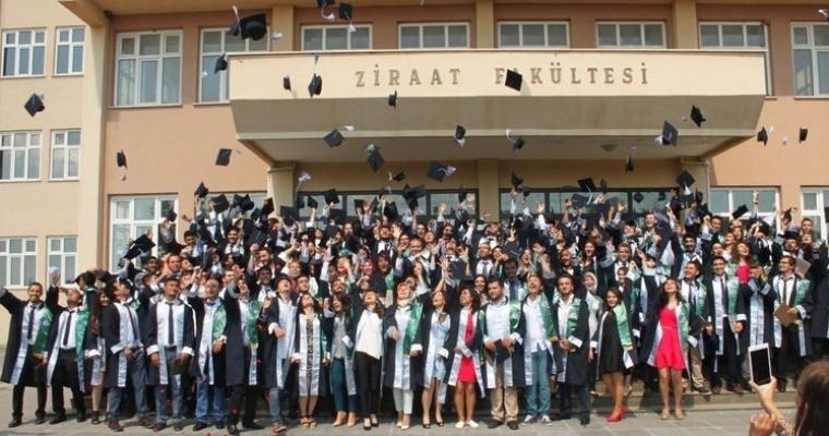 Ziraat Fakültesi Mezuniyet Töreni Gerçekleştirildi
