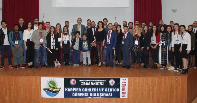 """Ziraat Fakültesi """"KARİYER GÜNLERİ"""" Gerçekleşti"""