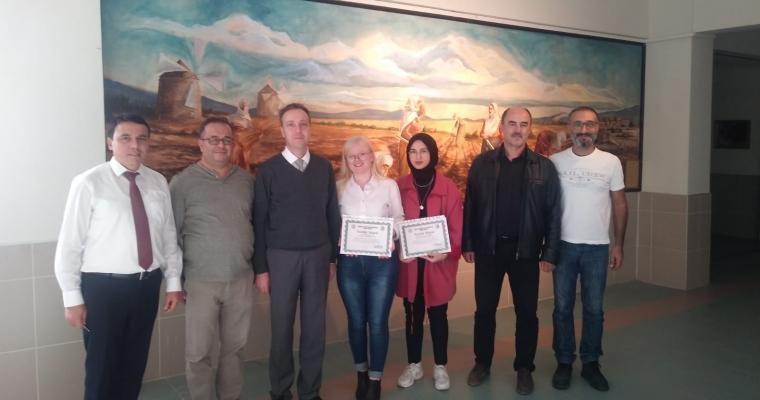 Ziraat Fakültesi'nde 'Tarım ve Doğa Temalı Duvar Resim Çalışması' Açılışı Gerçekleştirildi