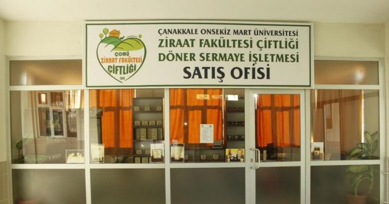 Ziraat Fakültesi Döner Sermaye Ofisi'nde Ürün Satışlarına Başlandı