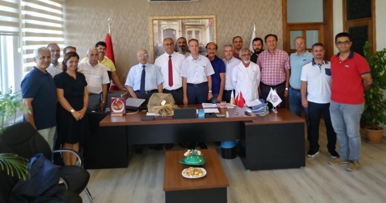 Çanakkale Onsekiz Mart Üniversitesi Ziraat Fakültesi Dekanlığı Devir Teslim Töreni Gerçekleştirildi