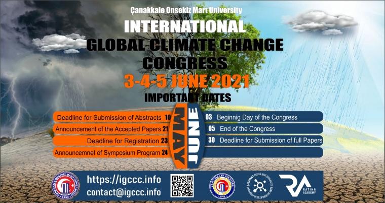 """""""Uluslararası Küresel İklim Değişikliği Kongresi"""""""