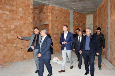 Rektör Acer Ayvacık MYO Yeni Hizmet Binası İnşaat Alanını İnceledi
