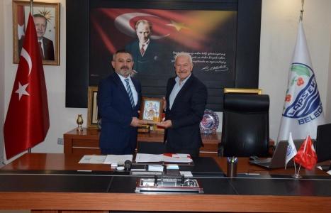 Rektör Acer'den Lapseki Kaymakamı Şahin ve Belediye Başkanı Yılmaz'a Ziyaret
