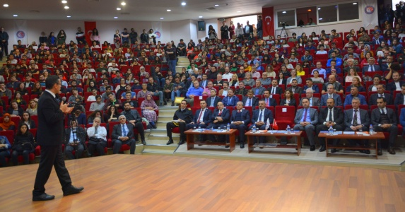 Sayıştay Başkanı Seyit Ahmet Baş,  ÇOMÜ'lülerle Buluştu