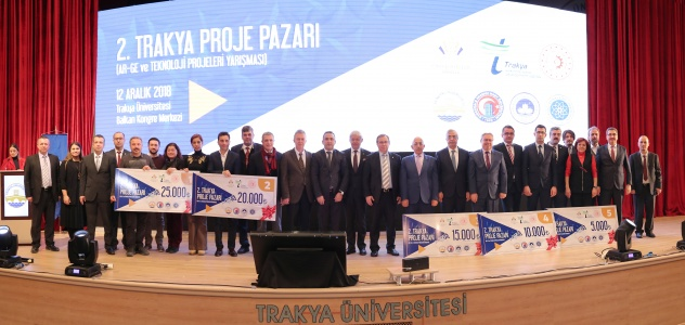 Trakya Proje Pazarı'nda Ödül Yağmuru